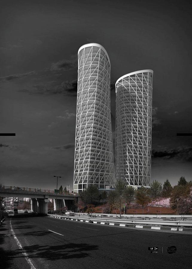 مسابقه معماری برجهای جکیم