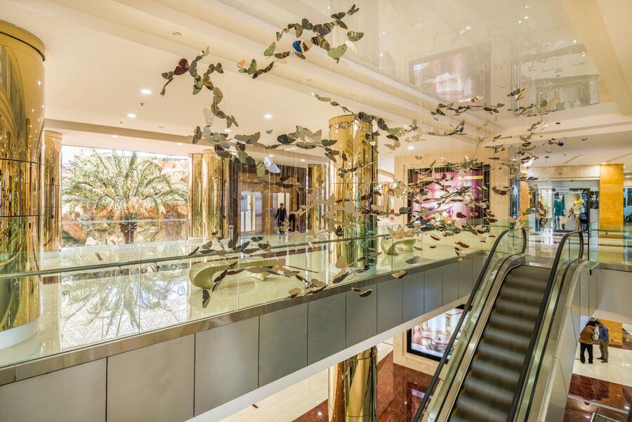 معماری هتل آپارتمان آرمان مشهد