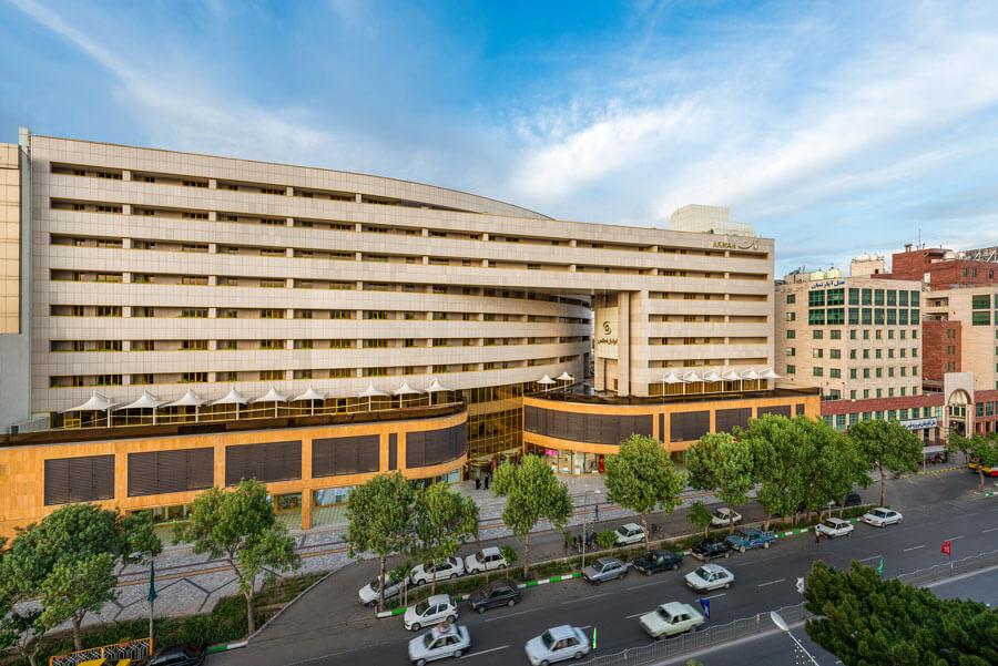 مجموعه تجاری و هتل آپارتمان آرمان