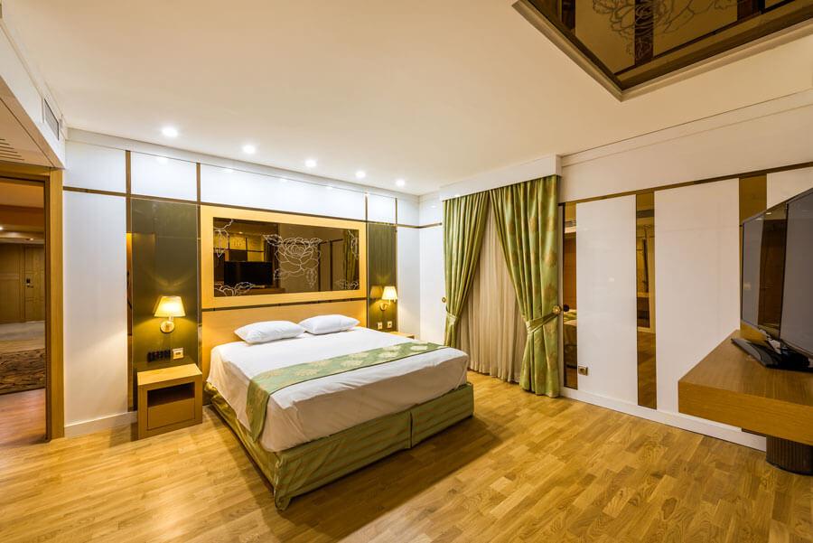 معماری هتل آرمان مشهد