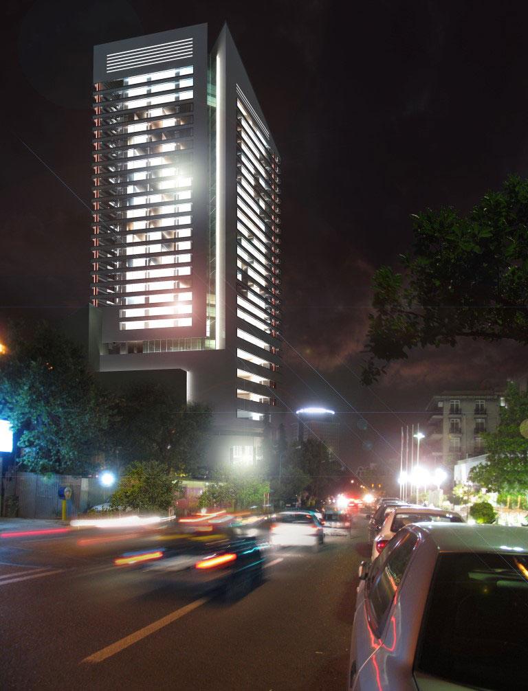 معماری هتل ملل