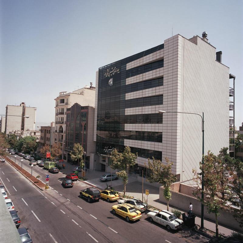 معماری بیمارستان چشم پزشکی نور