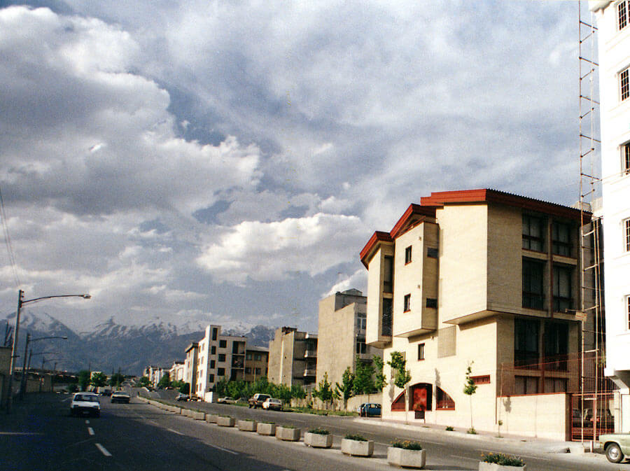 معماری ساختمان مسکونی خیران