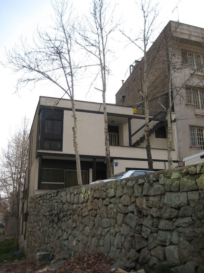 معماری خانه مسکونی دقیق فکر