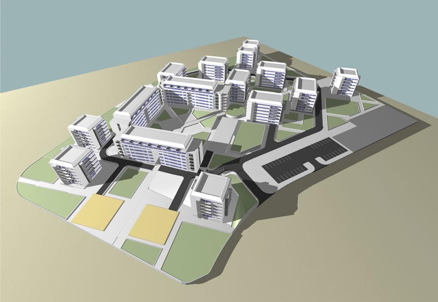 معماری شهر جدید پردیس