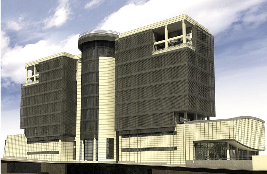 ساختمان اداری طالقانی