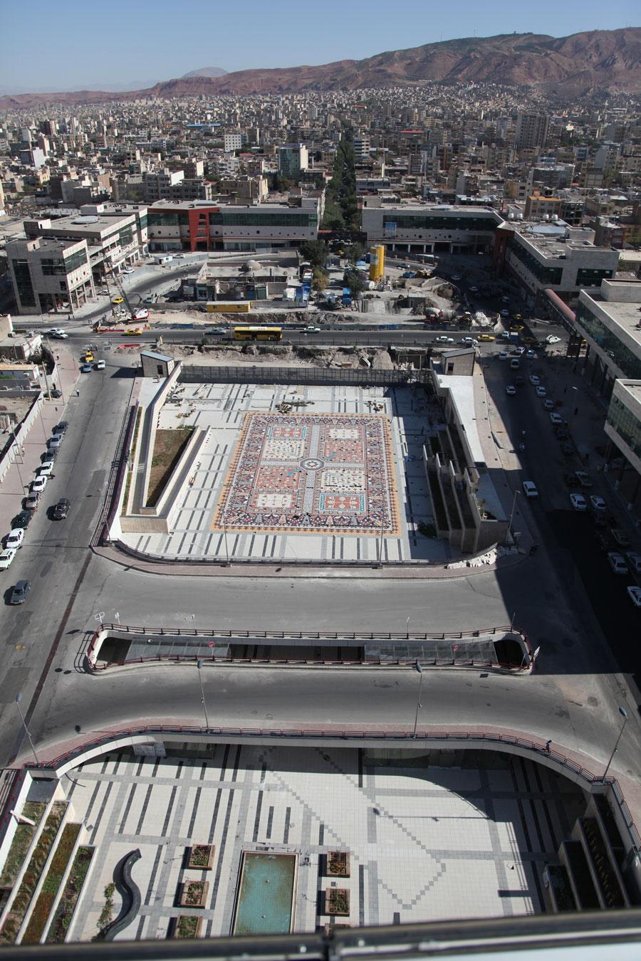 طرح نوسازی و توسعه میدان شهید بهشتی تبریز
