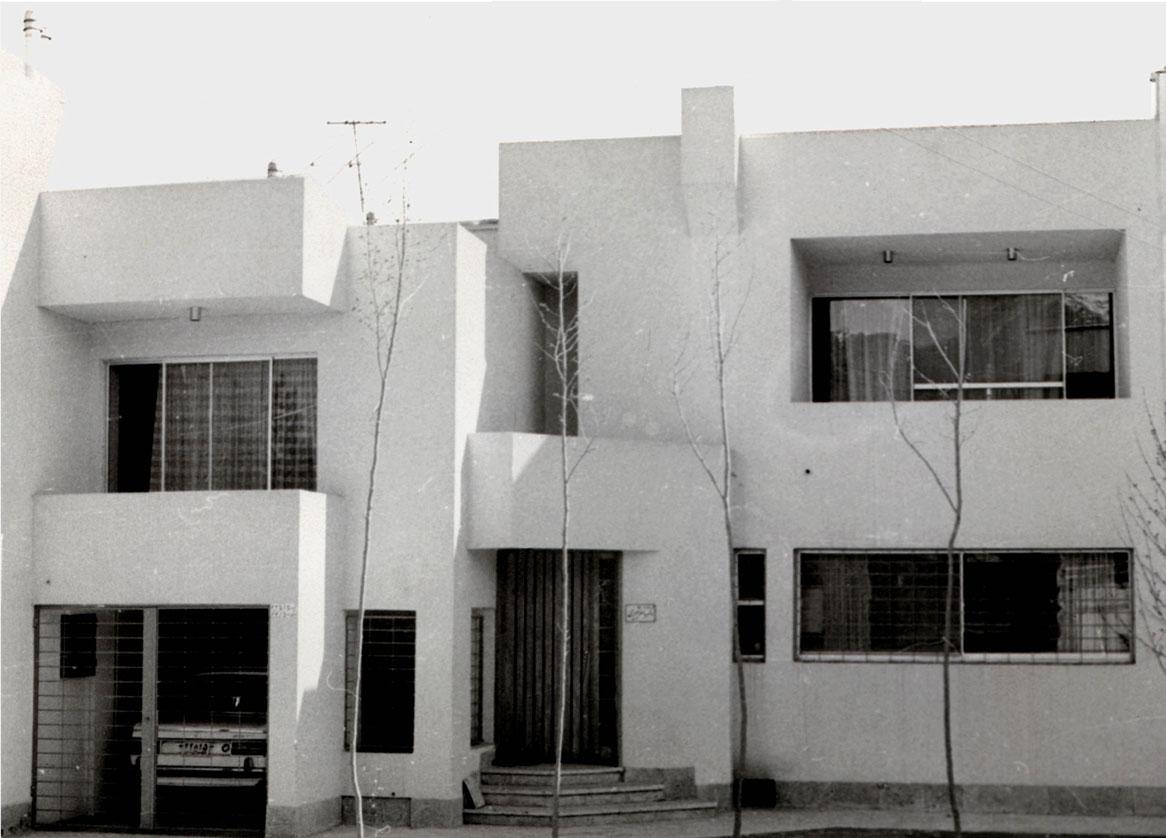 معماری خانه مسکونی شبیری