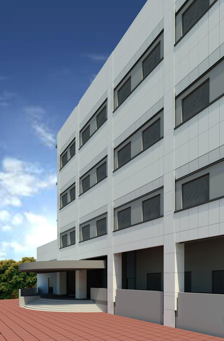 معماری مرکز آکادمیک بیمارستان فارابی