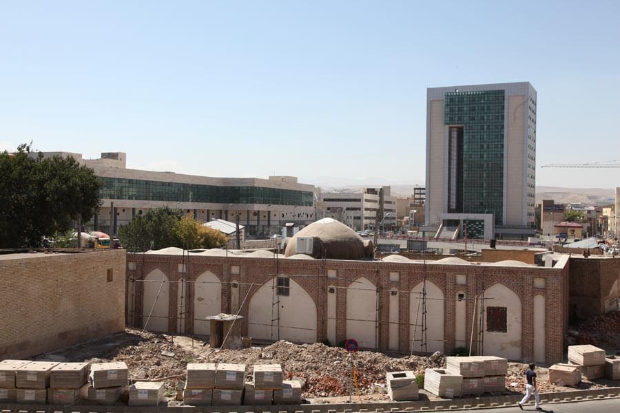 نوسازی و توسعه میدان شهید بهشتی تبریز