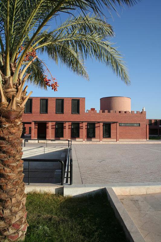 معماری ساختمان بم
