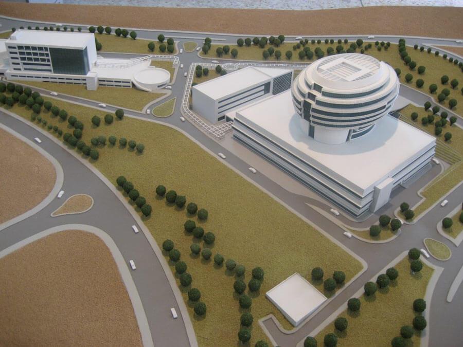 معماری بیمارستان مغز و اعصاب ایران