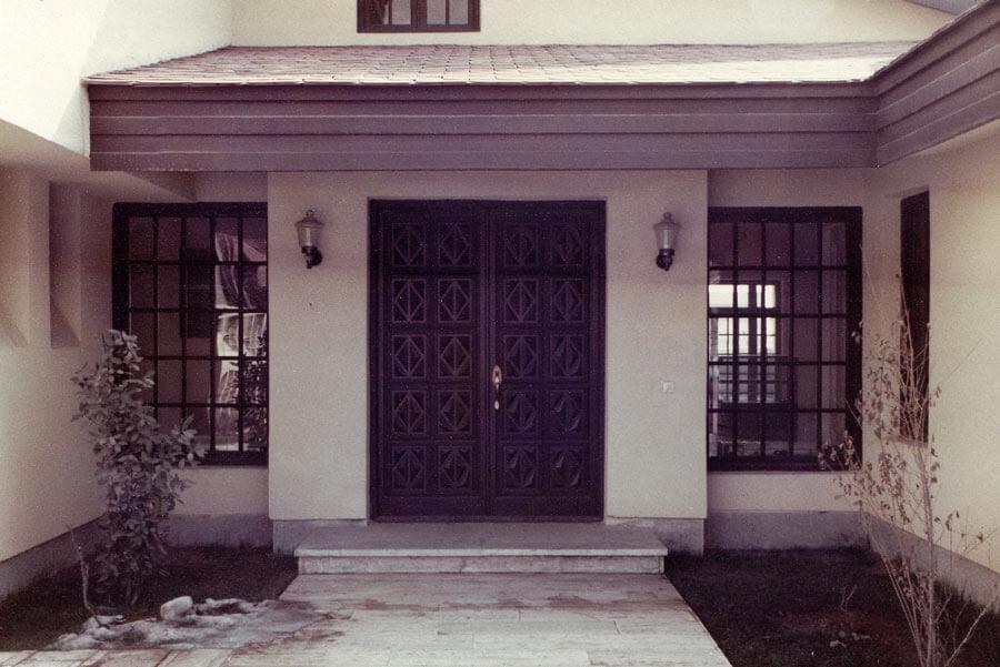 خانه مسکونی ماهرویان شارستان