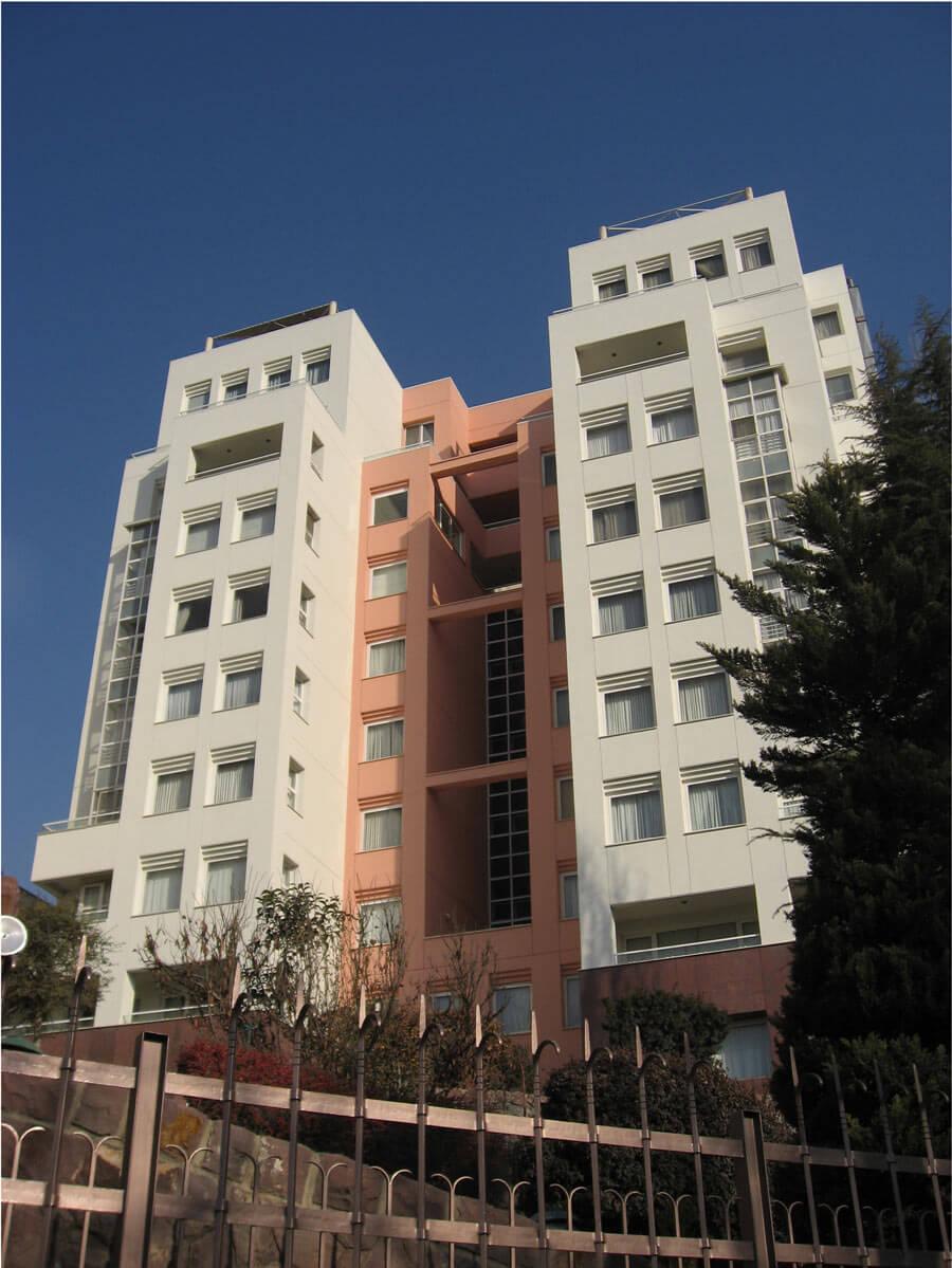 ساختمان مسکونی آبکوه فرمانیه