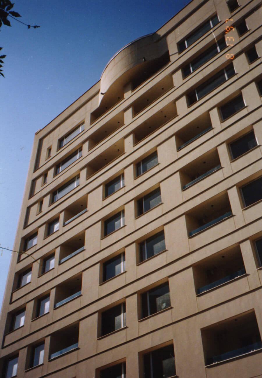 معماری ساختمان مسکونی آبکوه