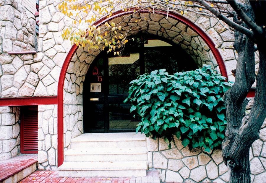 معماری ساختمان مسکونی جهانتاب