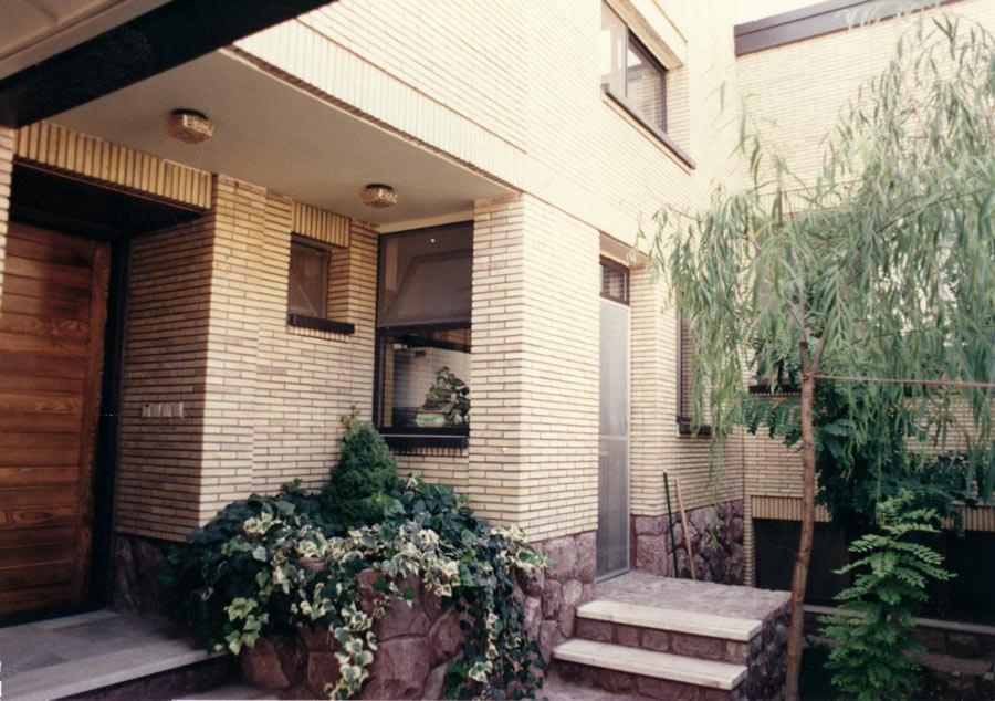 معماری خانه مسکونی رسولی