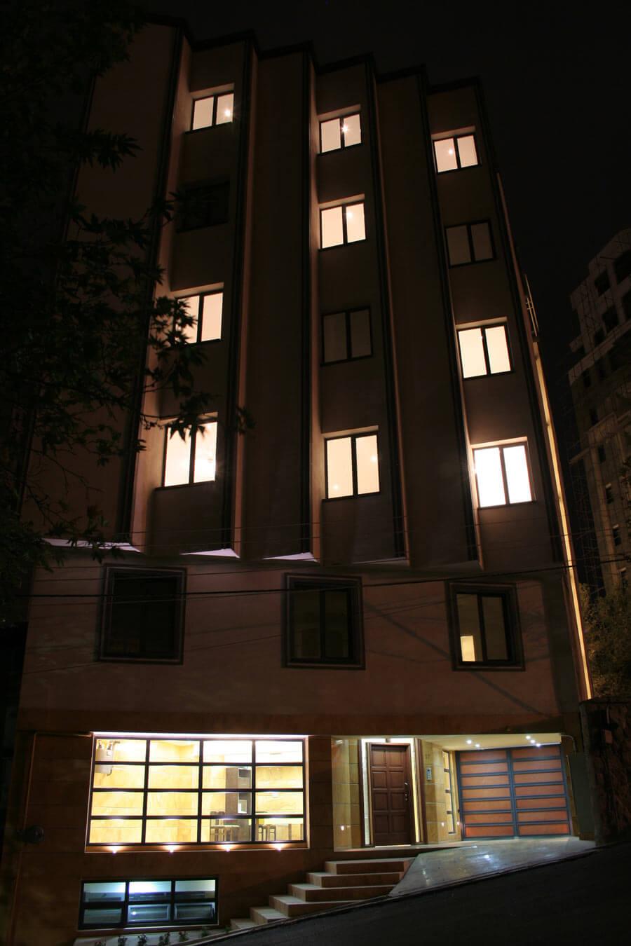 معماری ساختمان مسکونی گلنار
