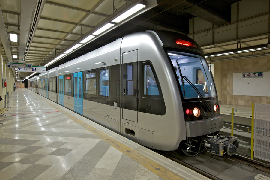معماری ایستگاه قطار شهری مشهد