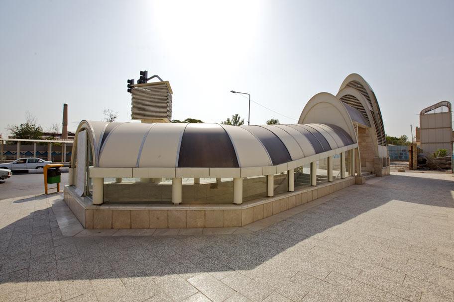 ایستگاه 3 قطار شهری مشهد