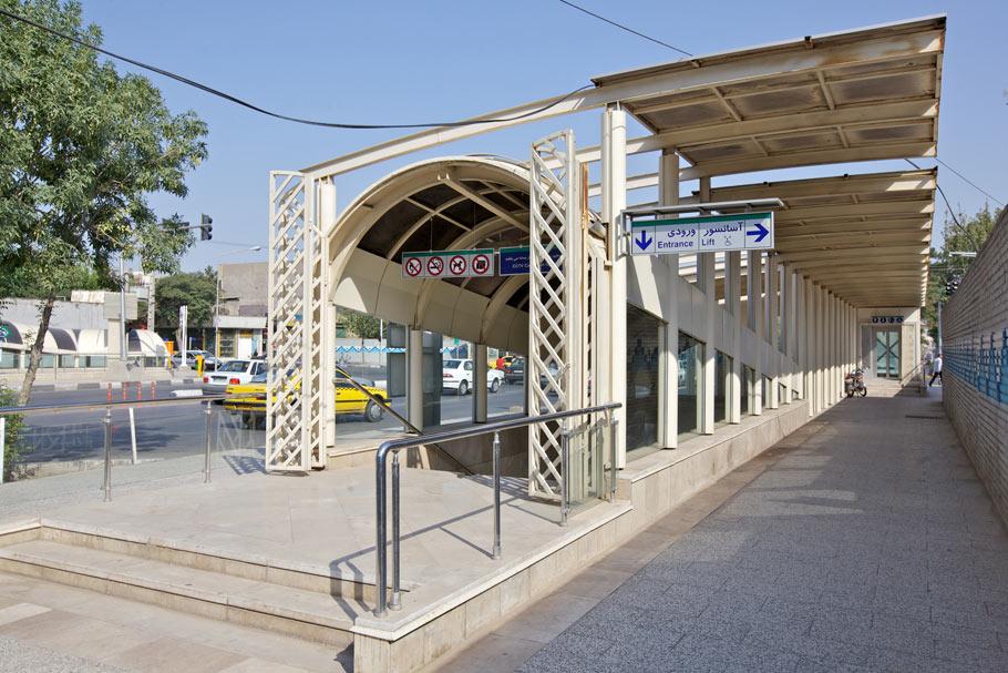 ایستگاه 3 قطار مشهد