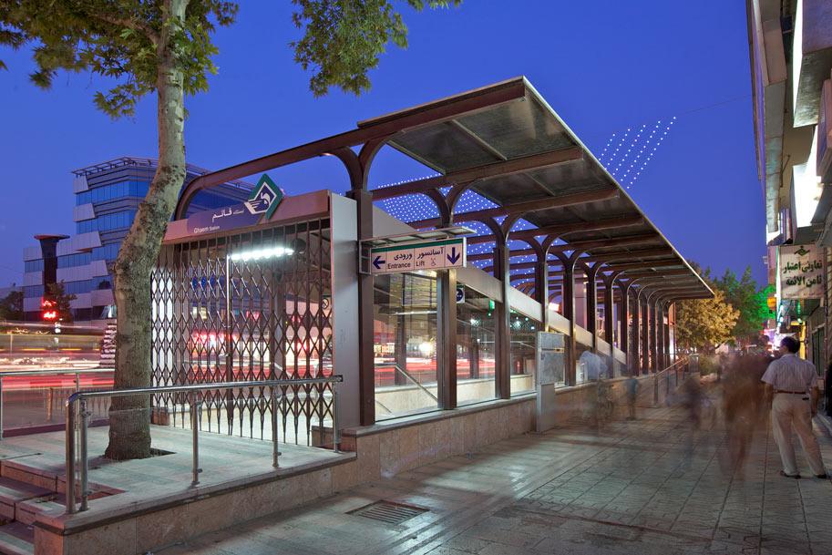 ساخت قطار شهری مشهد