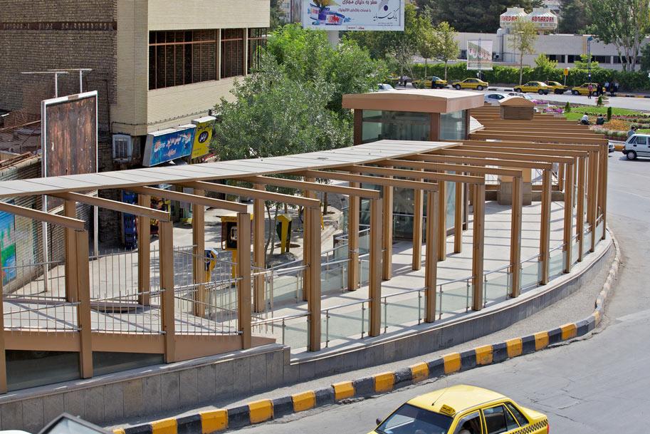 ایستگاه شماره 8 قطار شهری مشهد شارستان