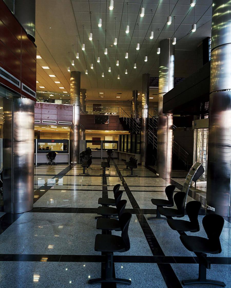 معماری ساختمان سرپرستی بانک مسکن اراک
