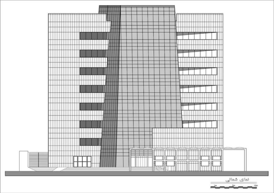 معماری بانک شارستان