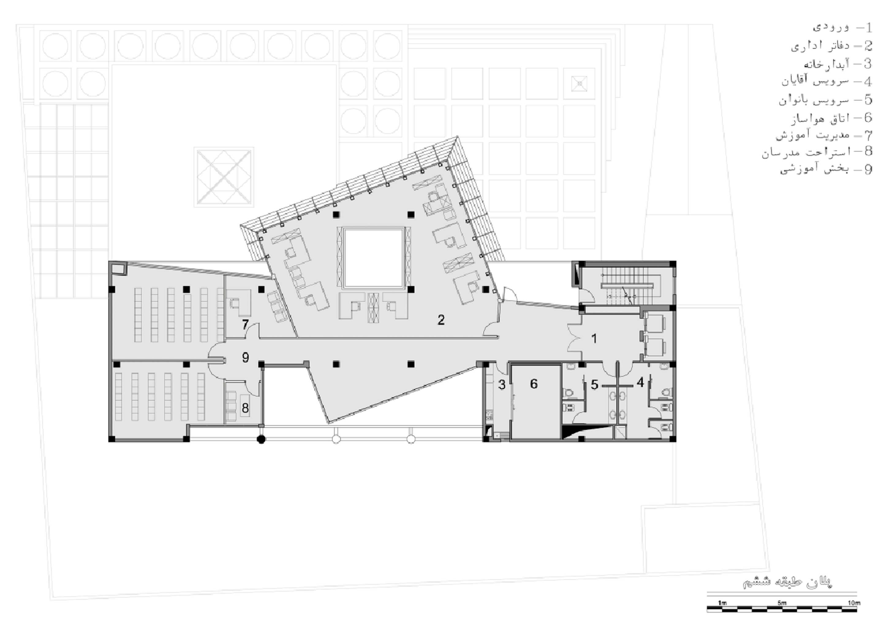 معماری بانک مسکن اراک