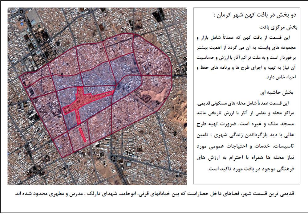 بافت کهن شهر کرمان