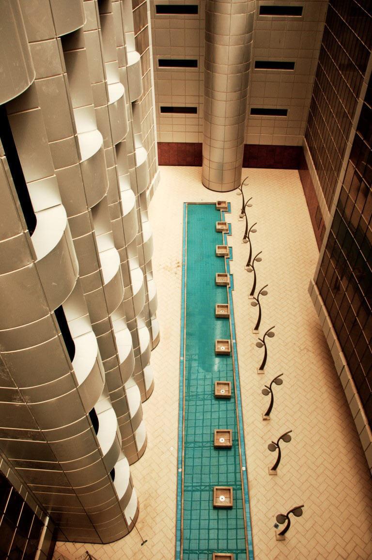 معماری مجتمع اداری پارس جنوبی
