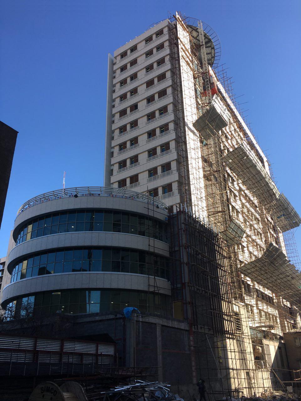 معماری ساختمان وزارت جهاد و کشاورزی