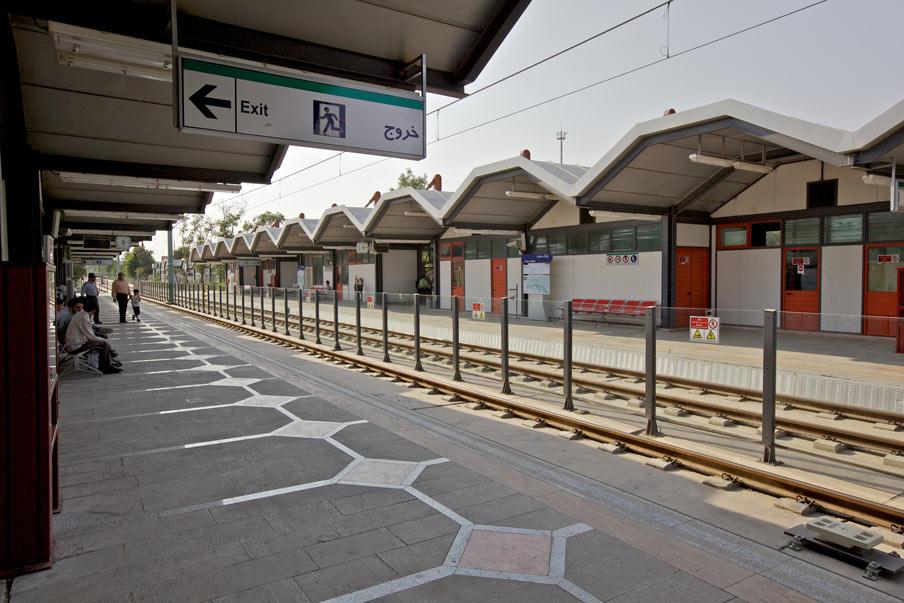 ایستگاه شماره 12 قطار شهری مشهد