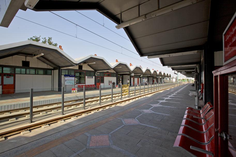 ایستگاه 12 قطار شهری مشهد