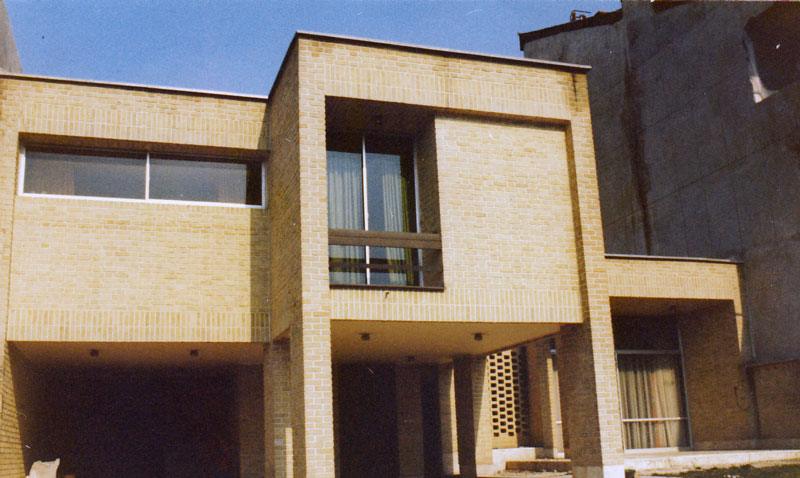 معماری خانه مسکونی فداکار