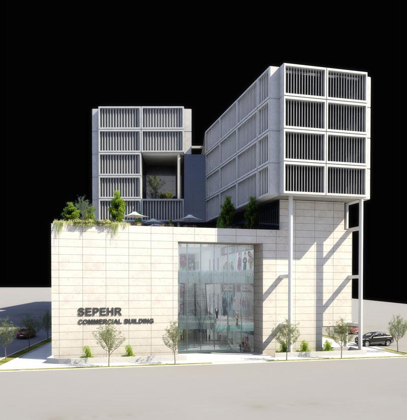 ساختمان تجاری تهرانپارس شارستان