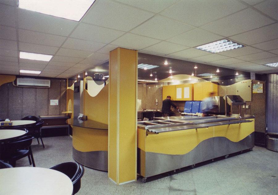 طراحی داخلی شرکت استت اویل