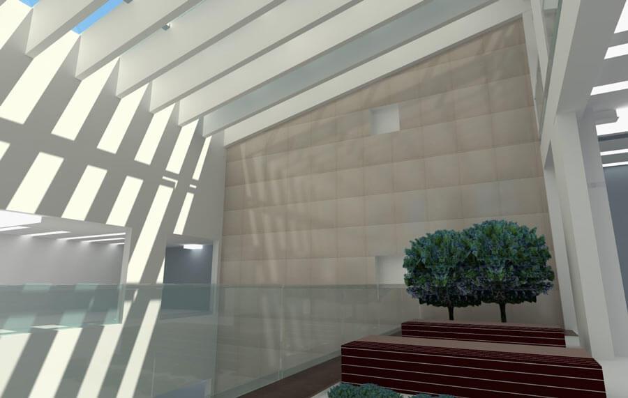 معماری بیمارستان فارابی