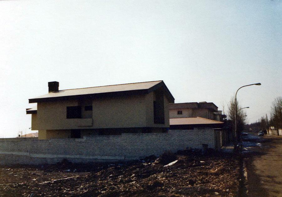 معماری خانه مسکونی ماهرویان