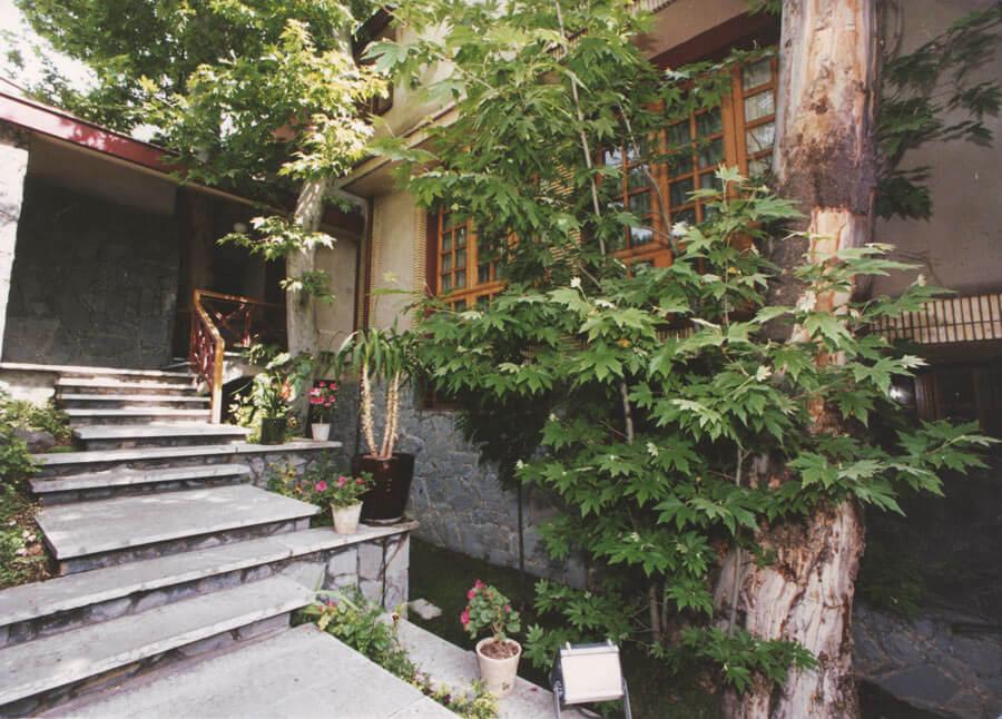 معماری خانه مسکونی احمد سرتیپ