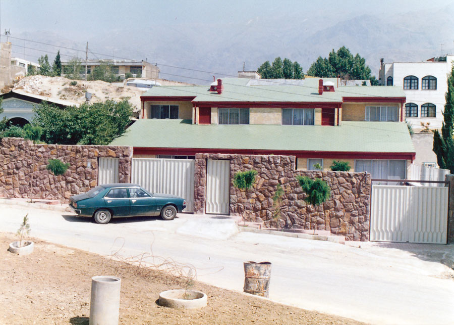 معماری خانه مسکونی فرتاش مهر