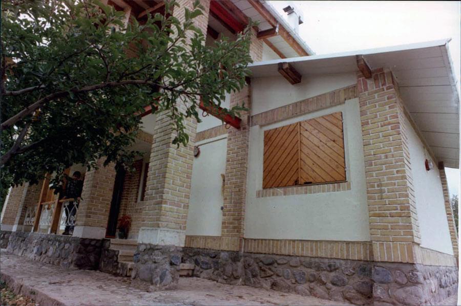 معماری خانه مسکونی فرهنگ