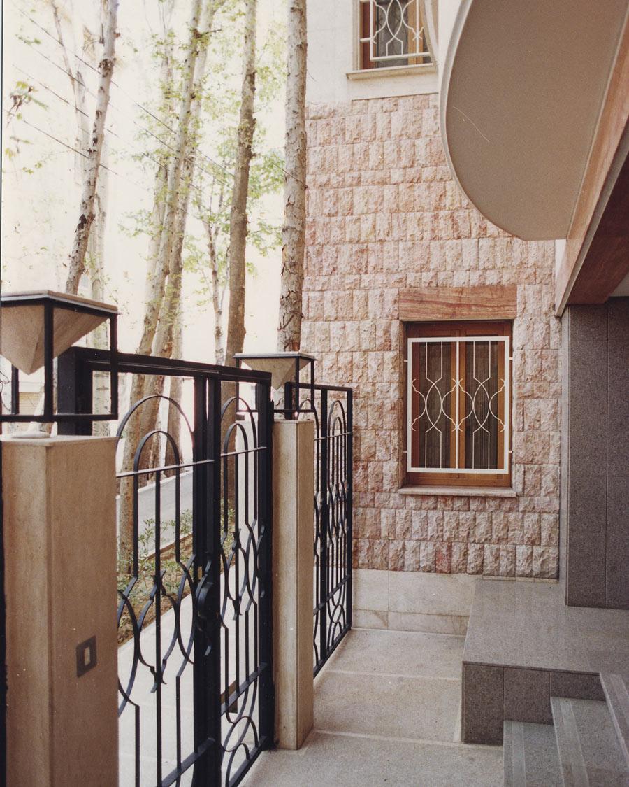 معماری ساختمان مسکونی بابازاده