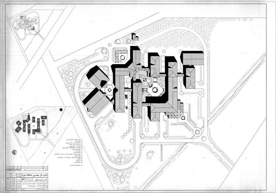 معماری دانشکده کشاورزی دانشگاه یاسوج