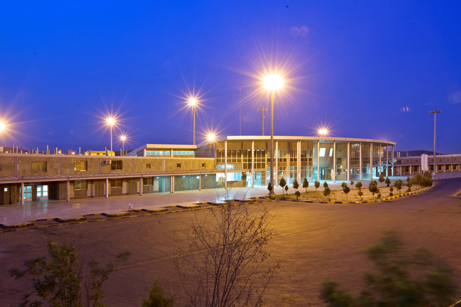 معماری ایستگاه 22 مشهد