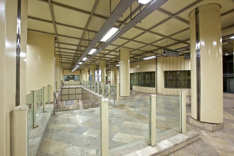 معماری ایستگاه شماره 3 قطار شهری مشهد