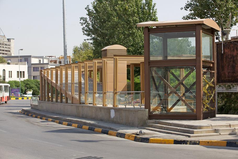 ایستگاه شماره 8 قطار شهری مشهد