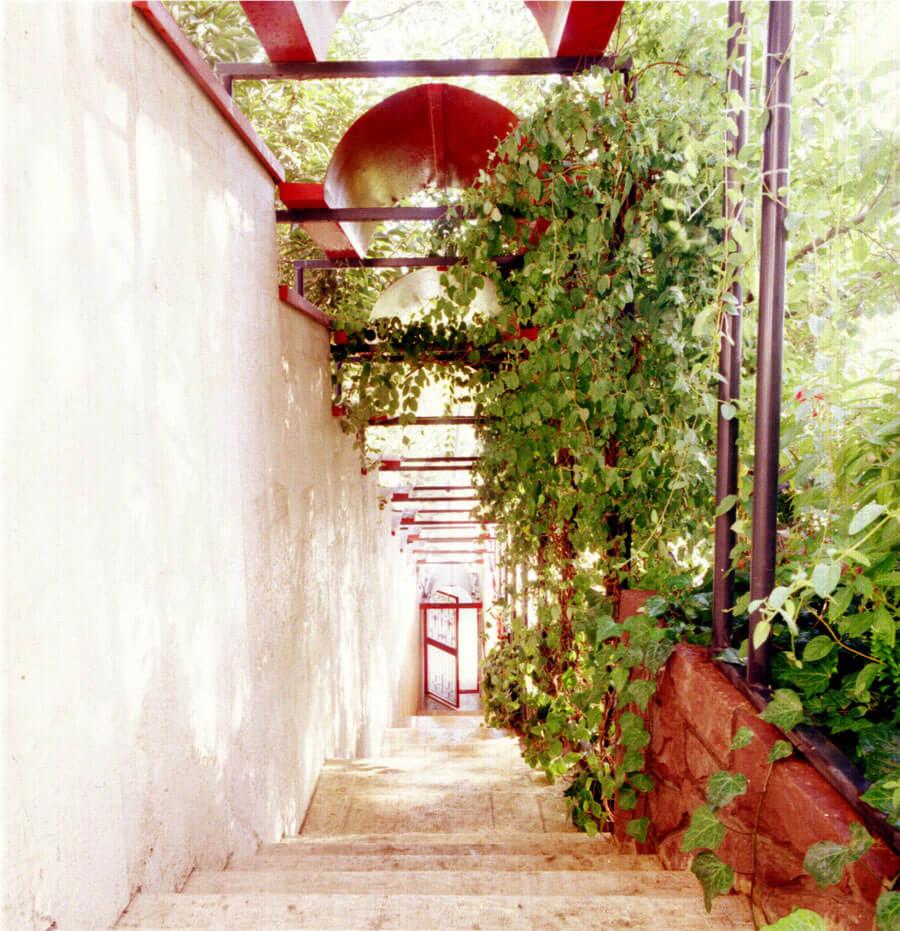 معماری در ساختمان مسکونی جمال آباد