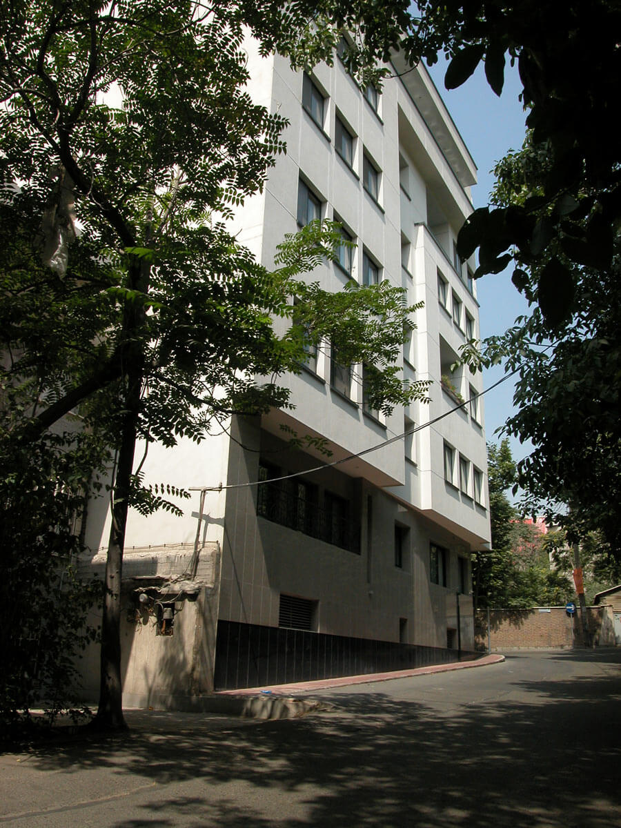 معماری ساختمان مسکونی بصیری